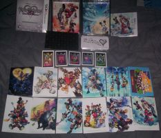 Kingdom Hearts 3D Mark of Mastery Contents by XIIIthEnigma