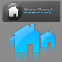 Home Portal Poster by PsychOut