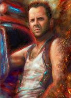 Tough Bruce Willis by Ururuty