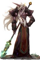 my wow chracter kim bi nu by SiaKim