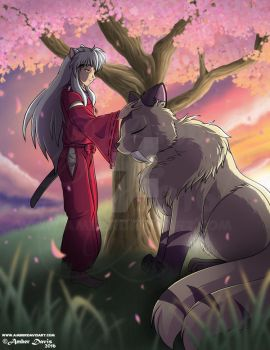 Thankful InuYasha [Commission] by SonicSweeti