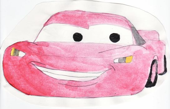 Lightning McQueen by WhiteBlouse