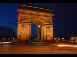 Arc de triomphe by Pithana