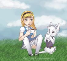 Alice in Wonderland by scriptKittie