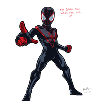 Ultimate Spider-man by DoubleChocolateChip