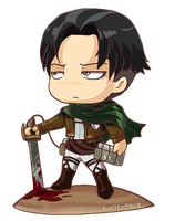 Levi / Rivaille chibi by Evolvana