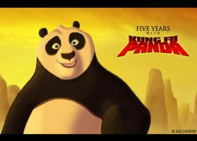 Five Years with Kung Fu Panda by Archon89