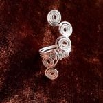 Size 7 HandCrafted WireWrap Ring by SilenceBLEH