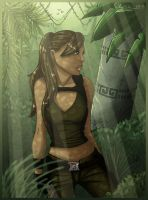 Lara Croft Mexico by ClaireLyxa