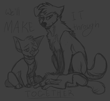 we'll make it without you. by karrev