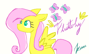 fluttershy cute by pinkamena1999