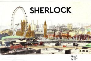 Sherlock London by FirewhiskeyRadz
