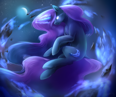 MoonlightGalaxy by OblivionHeart13