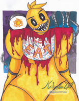 Chica Welcomes you by KSapphire8989