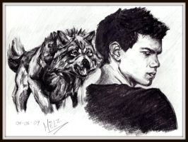 Jacob Black - The Werewolf by vampirate-8