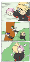 Deidara the Opportunist by BrYttBRatt