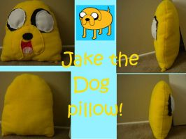 Jake the dog pillow by LoraxFan