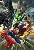 JLA by caiocacau