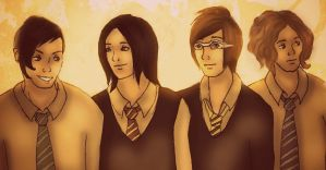 My Chemical Romance - Harry Potter style by MissFreakyLuce