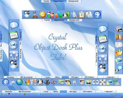 Crystal Object Dock Tabs by TNBrat