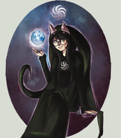 Witch of space by xBlackMelody