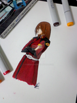 Aki Hyuuga - ZAFT Red :Copics: by ThirdEcho