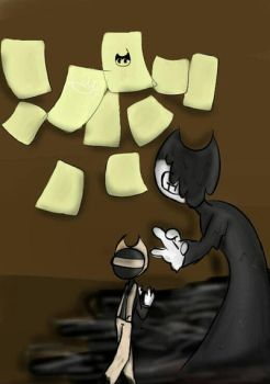 Bendy and Sammy  by luhtf
