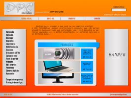 DPC informatica design layout for web by juliuscaesarrock