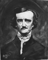 Edgar Allan Poe by cliford417