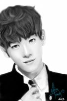 Jongdae [finished work] by The-Rmickey