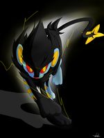 Running Luxray by bsh0404