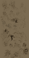 OC Sketch Page part 1 by Simply-Psycho