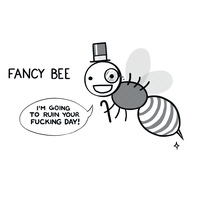 Fancy Bee by arseniic