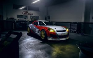 2014 Madchen and Motoren Opel GT by ThexRealxBanks