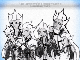 sketch collage: KH1 Ansem by ssceles