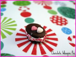 Chocolate Whoopie Pie by cupcakecutiefriends