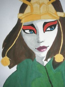Suki a Kyoshi Warrior by MaskedFeather