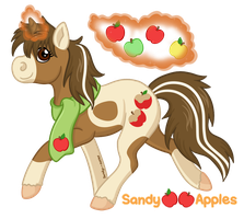 Magical Apples by Sandy--Apples