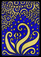 Blue And Gold ACEO 06 by Siobhan68