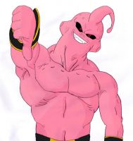 Buu Colour by rampagebrian