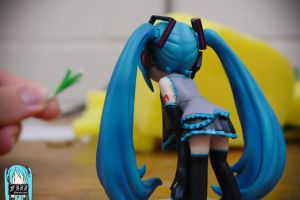 Hatsune Miku Mixing Box Fig by thechevaliere
