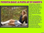 TG Caption: Perdita Bale, a pupil at St Gwen's by p-l-richards
