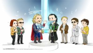 Thors Wedding by amoykid