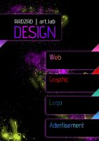 graphic designer advertisement by radzad