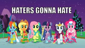 Haters Gonna Hate at the Gala by sly-sora-star