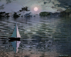 Twilight Sail by Nigel-Hirst