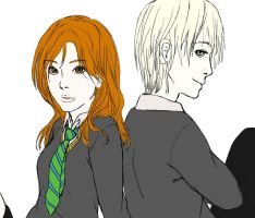 Rose and Scorpius - Unfinished by xSweet-Toothx