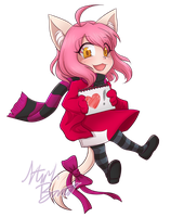 Commission - Luneko by SaBasse
