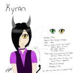 New character: Kyran by loveless-yaoi-fan