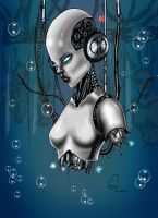 Cyborg by ArtWarrior25